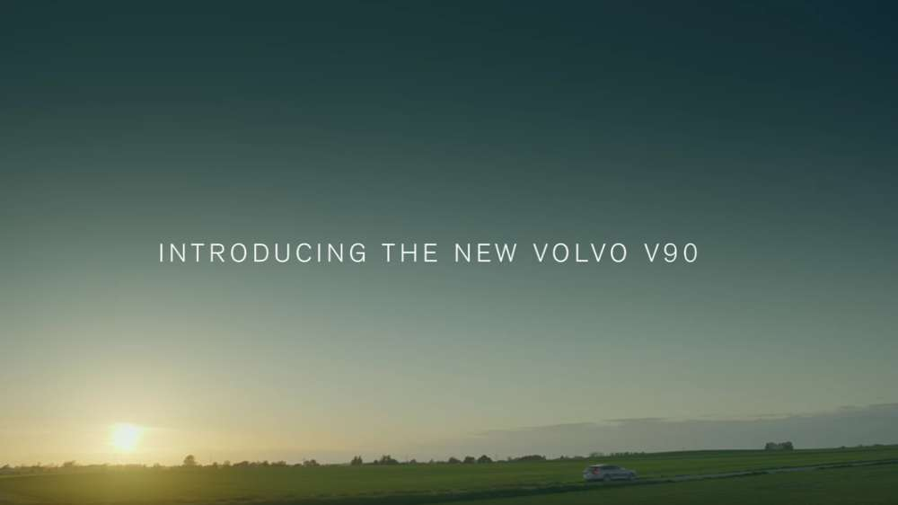 Volvo V90 - Made By Sweden