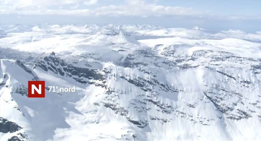 71 Grader Nord, TVNorge - by Helicopter